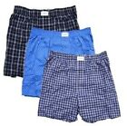 NEW!! Tommy Hilfiger Men's Underwear 3 Pack Cotton Woven Boxers 1003049, Variety