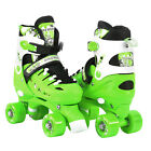 Adjustable Quad Roller Skates For Kids Size 135 Junior To 9 Adult