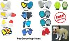 Pet Dog Cat Grooming Gloves Dirt Hair Remover Brush Glove for Gentle Deshedding $5.01 USD on eBay