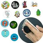 Expanding RICK MORTY Pop Out Phone Grip Holder for iPhone Samsung Tablet case uk