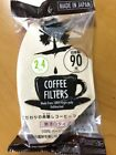 *Made in Japan* Coffee Paper Filter for 2-4-6-8 cups 90 sheets 100% virgin pulp