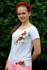 "Ukrainian Women's short sleeve embroidered shirt ""Mriya"""