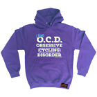 Cycling Hoodie Ocd Cycling hoody top windcheater funny Birthday HOODY