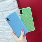 For iPhone X 6 6s 7 8 Plus Full Protective Soft Liquid Silicone Gel Cover Case