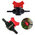 water hoses for gardens - 2X Garden Irrigation 4/7mm 8/11mm Coupling Pipe Water Hose Switch Plastic Valve
