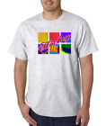USA Made Bayside T-shirt Sports Hockey Warhol