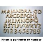 """Pine Maiandra 5"""" to 11"""" Individual Wooden Letters Numbers"""