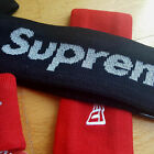 SUPREME New Era REFLECTIVE 3M Logo HEADBAND BLACK or RED with TAG Brand NEW!