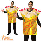 Deluxe Nacho Tortilla Chips Costume Mexican Spanish Fancy Dress Outfit Stag Do