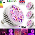 120Watt LED Grow Light Bulb E27 Full Spectrum For Indoor Growing Plant Led Bulb