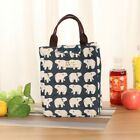 US Portable Insulated Thermal Cooler Lunch Box Carry Storage Bag Picnic Case