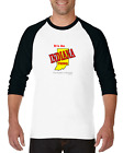 Raglan T-shirt 3/4 Sleeve Long It's An Indiana Thing Wouldn't Understand State