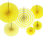 6x Tissue Paper Fan Flowers Happy Birthday Bunting Banner Garland Party Decor <br/> 37 Designs~Buy 1, Get 1 At 10% Off~Free Delivery~