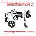 BestParts 4-wheels Cart Pet/Dog Wheelchair for Handicapped  small DogCatpuppy