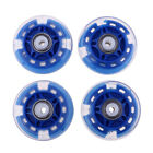 4 Pcs Inline Roller Skates Skating Replacement PU Wheel Accessories 64mm