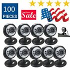Lot Night Vision USB 2.0 6 LED Web cam Camera With Mic For PC Laptop USA FAS