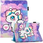 For iPad 9.7'' 2017/2018/Air/Air 2 Smart Pattern Leather Wallet Stand Case Cover