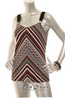 NEW WHITE HOUSE BLACK MARKET Women  Wear To Work  Tank Cami  Top Orange S M