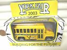 Matchbox 2003 York Fair Pennsylvania School Bus Variations Tampo Print or Blank