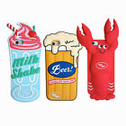 Silicone Emulational Lobster Beer  Phone Case Soft Phone Cover For iphone6/6s