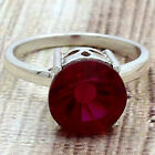 Simulated Indian Ruby 925 Sterling Silver Ring Jewelry Size 6-9 DGR1090_F