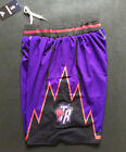 Toronto Raptors Basketball Shorts NBA Throwback Men's NWT Stitched Purple