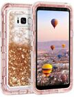 Samsung Galaxy S9 Plus Liquid Glitter Quicksand Protective Shockproof Case Cover