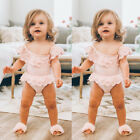 USA Kids Newborn Baby Girl Skirts Romper Jumpsuit Bodysuit Clothes Outfit Summer
