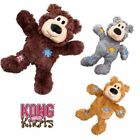 KONG Wild Knots Bear - Knots Rope Plush Squeaky Toy Puppy Dog (S/M, M/L & L/XL)