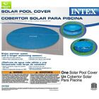 Intex Solar Cover for 12ft Diameter Easy Set and Frame Pools Covers Grounds