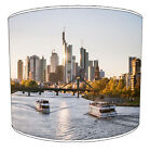 City Of Frankfurt Lampshades, Ideal To Match Frankfurt City Cushions & Covers