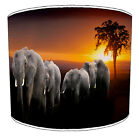 African Elephant Lampshades Ideal To Match Elephant Duvets & Elephant Wall Decal