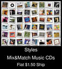 Styles(42) - Mix&Match Music CDs U Pick *NO CASE DISC ONLY*