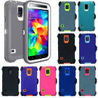 Samsung Galaxy S5 Case with Screen Protector(Belt Clip fits Otterbox Defender)