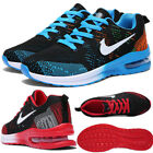 Breathable Mens Sneakers Casual Fitness Sports Black White Gray Shoes Size 7-12