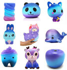 Внешний вид - Lovely Galaxy Deer Cream Scented Squishy Slow Rising Squeeze Strap Kids Toy Gift