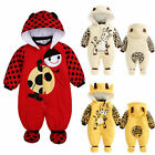US Seller Infant Baby Boy Girl Winter Warm Romper Jumpsuit H