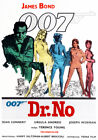 Decoration Poster.Home room art.Interior design.James Bond Dr.No movie film.7218 $12.0 USD on eBay