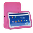 7Inch 8GB Kids Tablet PC Android4.4 Quad Core Dual Camera HD WiFi Bundle Case