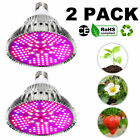100Watt LED Grow Light Bulb Plant Grow Lamp E27 Full Spectrum  Garden Fruit Veg. Buy it now for 35.38
