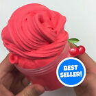 SCENTED Cherry Bomb Butter Slime! Stretchy Thick Daiso Clay Butter Slime