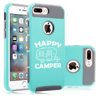 For Apple iPhone X SE 5 6 6s 7 8 Plus Shockproof Hard Case Cover Happy Camper