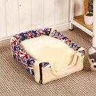 US Small Pets Dog Cat Bed House Washable Puppy Cushion Mat Pad Blanket Cave Nest