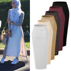 Muslim Thick Skirt Bodycon Slim High Waist Stretch Long Maxi Women Pencil Skirt