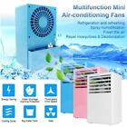 Mini Air Conditioning Unit Fan Low Noise Home Cooler Digital Cooling System MU