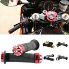 "Motorcycle 7/8"" Handle Bar Hand Grips For Honda CBR Yamaha YZF Kawasaki Ninja MT"