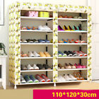 D191 Shoe Rack Cabinet Cartoon Portable Dustproof Organiser Storage 110X30CM Z