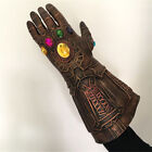 The Avengers Thanos Infinity Gauntlet Glove Black Panther Mask Cosplay Costume