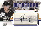 2009-10 ITG Heroes and Prospects Autographs #ATH Thomas Hickey