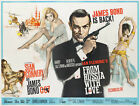 From Russia With Love 3 Movie Poster Canvas Picture Art Print Premium A0 - A4 £14.49 GBP on eBay